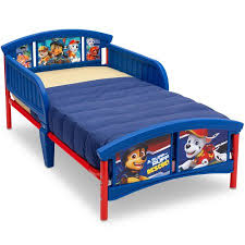 paw patrol plastic toddler bed walmart