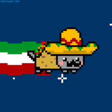 Nyan Cat Know Your Meme - taco cat gif nyan cat photo pictures to pin on pinterest