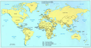 World Map Continents And Countries by Picture Of World Map World Map
