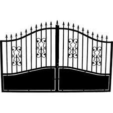 portillon jardin leroy merlin portail battant fer pinson noir l 300 cm x h 192 cm leroy merlin