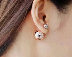 front and back earrings jewellery trends of the year 2017 2018 let me groom
