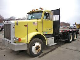 used peterbilt trucks 1994 peterbilt 378 tandem axle flatbed truck for sale by arthur