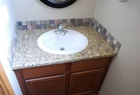 Bathroom Sink Tile Excellent Bathroom Tile Backsplash Ideas Ideal For Home Decoration