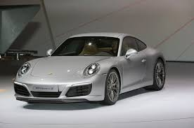 Porsche 911 Carrera - official 2017 porsche 911 carrera carrera s get turbocharged engines