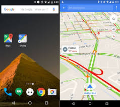Maps Go Google Maps U0027 New Driving Mode Already Knows Where You Want To Go