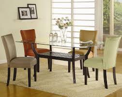 dining room white classic wooden 5 piece dining set design style