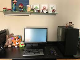 gaming setup desk gaming setup 2017 battlestations