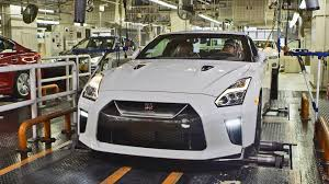 nissan gtr all models car factory 2017 nissan gt r youtube
