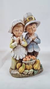 thanksgiving pilgrim figurines 10 inch thanksgiving pilgrim indian children figurines thanksgiving wikii