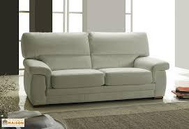 canap en l canapé en cuir reconstitué 3 places viviane 192x88x90cm l l h 5