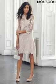 Monsoon Wedding Dresses Uk Buy Monsoon Jasmine Gold Long Sleeve Embellished Dress From