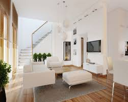 White Leather Chair With Ottoman Apartment Good Ideas Interior Design For Your Apartment Using