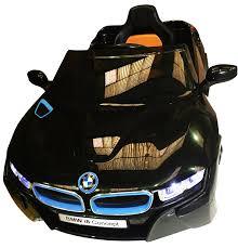 Black Bmw I8 Licensed Bmw I8 Concept Black New Design 12v Twin Motors Kids Ride