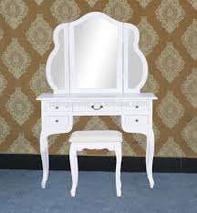Jewelry Vanity Table New Makeup Jewelry Vanity Set Table U0026 Chair Mirror White Buy