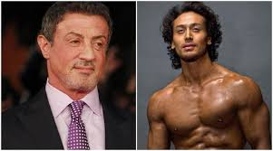film rambo tribute as tiger shroff becomes indian rambo sylvester stallone is afraid