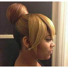 2017 classy bun hairstyles for african american women bun and bang hairstyles for black women google search gorgeous