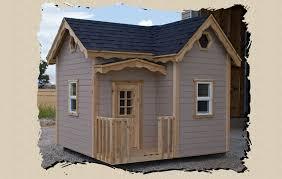 outdoor playhouse kits childrens wood kits