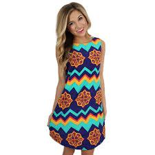 preppy u0026 pretty shift dress in royal blue u2022 impressions online