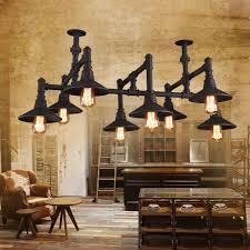 industrial hanging light fixtures vinatage ceiling lights semi flush industrial hanging light