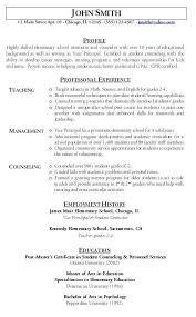 Student Teaching Resume Samples First Year Teacher Resume Resume Badak