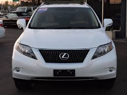 2010 white lexus rx 350 for sale used 2010 lexus rx 350 at auto house usa saugus