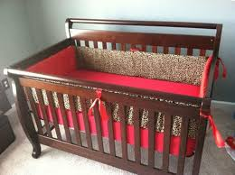 Animal Print Crib Bedding Sets Cheetah Crib Bedding Set Home Inspirations Design