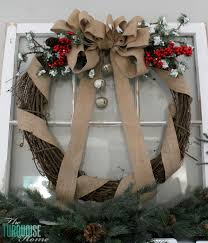 burlap christmas simple burlap christmas mantel and a baby story the turquoise home