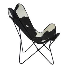 Black Butterfly Chair Chair Cow Black Self Assembly