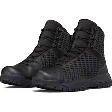 under armour stryker black tactical boot