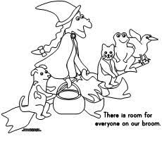 making learning fun room broom coloring pages