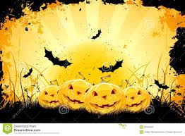 halloween background designs grungy halloween background with pumpkins and bats stock photo
