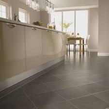 Cream Kitchen Tile Ideas by Flooring Ideas Cream Natural Stone Kitchen Tile Flooring With