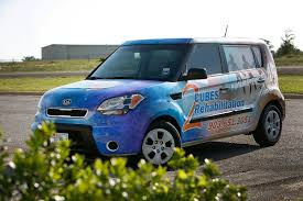 kia cube 2 cubes rehabilitation kia soul car wrap city