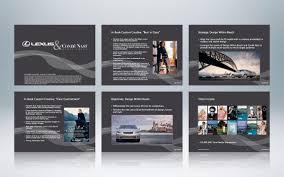 lexus slide website coreslide presentation design