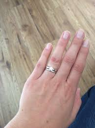 3mm ring help 3mm engagement ring with 2mm wedding band