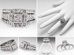 Square Wedding Rings by Big Square Engagement Rings Platinum Setting 2 Ifec Ci Com