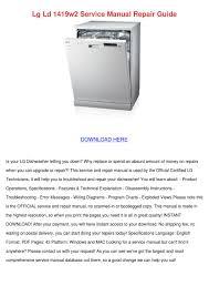 lg dishwasher wiring diagram lg dishwasher ldf7774st installation