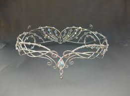 elven bride tiara elven tiara fairy circlet tiaras pinterest