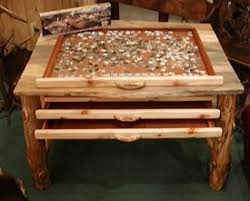 jigsaw puzzle tables portable jigsaw puzzle table canadian woodworking and home improvement forum