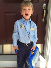 Police Halloween Costume Kids Easy Diy Police Costume Kids Diy Danielle