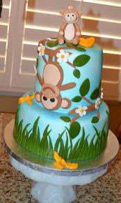 baby shower monkey cake monkey baby shower cakes pinterest