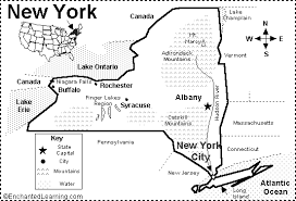 map new york state new york state map quiz printout enchantedlearning