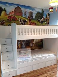 Bunk Beds With Stairs  Andersons Themes And Dreams - Dreams bunk beds
