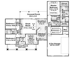 craftsman style house plan 3 beds 2 50 baths 1919 sq ft plan 21 292