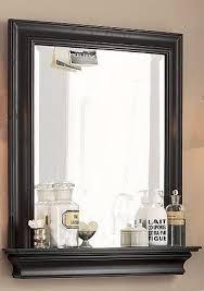 Framed Bathroom Vanity Mirrors by Best 25 Bathroom Mirror With Shelf Ideas On Pinterest Framing