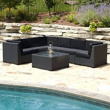 Rustic Patio Furniture Sets by Sears Outdoor Patio Wicker Furniture Set 5 Piece Outdoor Wicker