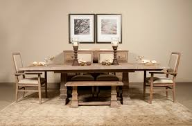 Rustic Dining Room Table Set Rustic Dining Set With Bench Design Contemporary House Interior