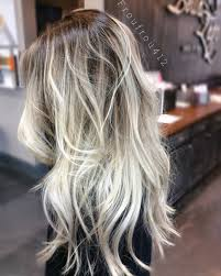 creating roots on blonde hair instagram froufrou412 or ashsmith412 balayage blonde color
