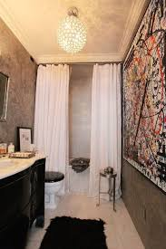 bathroom ideas with shower curtain up on your shower curtains so they part instead of slide