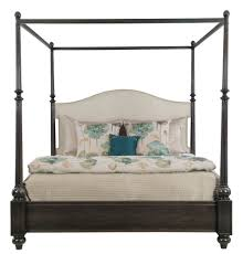 upholstered canopy bed bernhardt